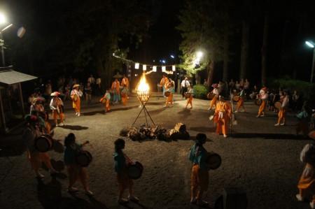 9月2日(土) 日雲神社太鼓踊り